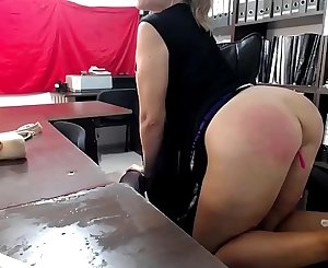 Blonde MILF Deepthroat and Squirt in Office