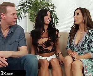 Gorgeous French Student Fucked By Pervy Landlord Duo - Anissa Kate, Francesca Le